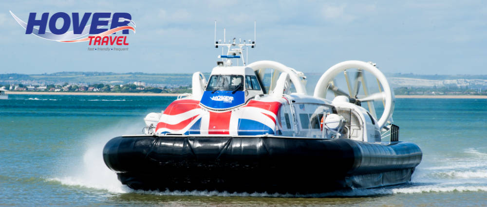 Hovercraft on the Isle of Wight